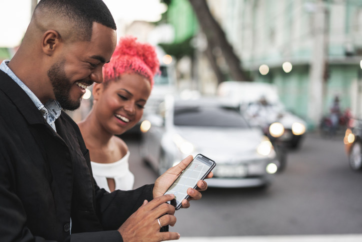 Afro, Mobile Phone, Smart Phone, Crowdsourced Taxi, Mobile App
